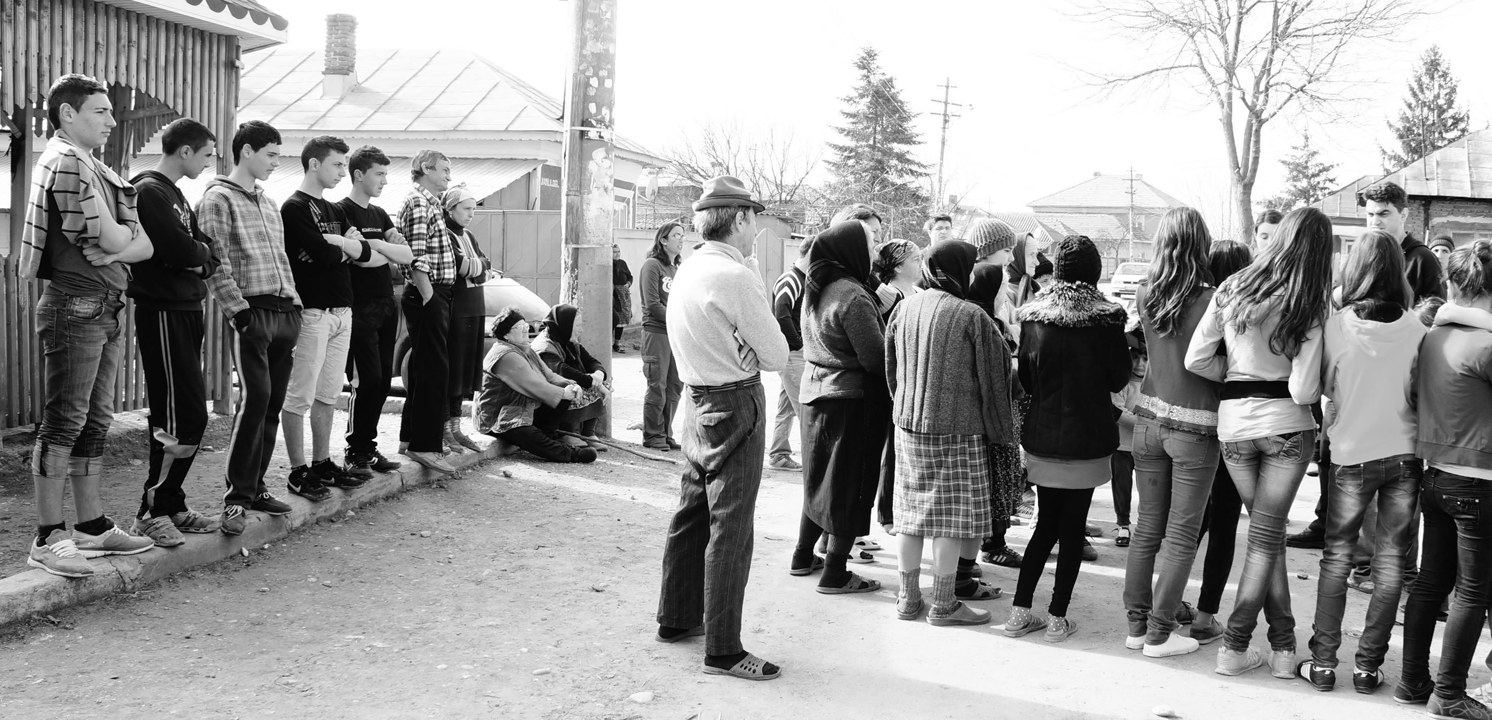 Impactul a 72 americani in Romania