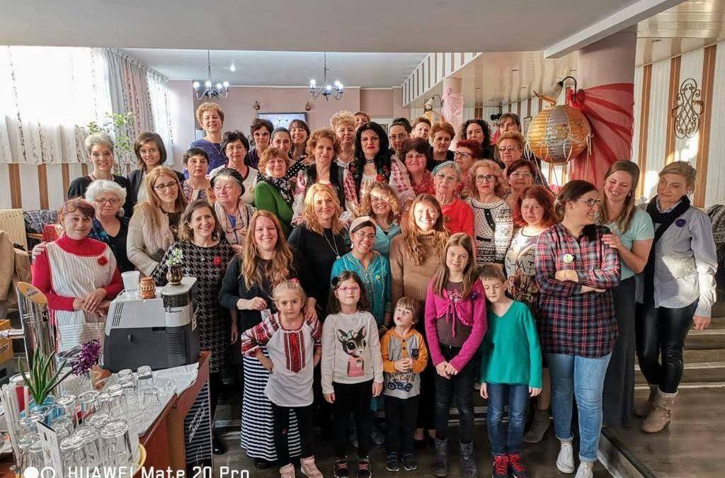 Prezentandu-L pe Isus femeilor din Craiova